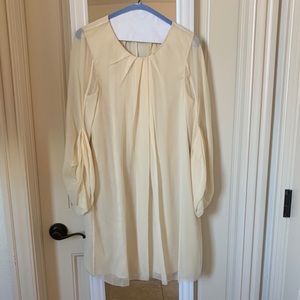 DVF Cream Dress